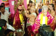திருகோணமலை பத்திரகாளி அம்மனைத் தரிசித்தார் மைத்திரி!