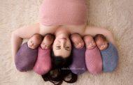 ஒரே பிரசவத்தில் பிறந்த 5 குழந்தைகள்! இணையத்தில் வைரலாகும் புகைப்படங்கள்!!