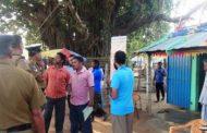 தமிழ்த் தேசியக் கூட்டமைப்பின் வேட்பாளரின் அலுவலகம் மீது தாக்குதல்!