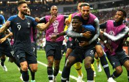 உலகக்கோப்பை கால்பந்து- குரோசியாவை 4-2 என வீழ்த்தி சாம்பியன் பட்டம் வென்றது பிரான்ஸ். மகிழ்ச்சியில்