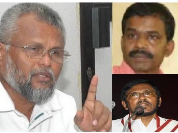 அமைச்சர் டக்ளஸ் பின்  தவராசா, சந்திரகுமார்