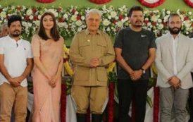 'இந்தியன் 2' படப்பிடிப்பிற்கு இந்தியன் தாத்தாவாக வந்தார் கமல்ஹாசன்!