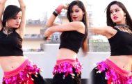 சம்மா சம்மா பாடலுக்கு பெல்லி டான்ஸ் ஆடிய பிரபல நடிகை..!