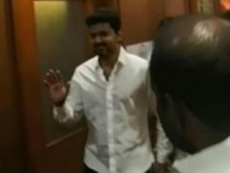 நடிகர் விஜயால் பரபரப்பு!