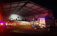 தென்னாப்பிரிக்காவில் தேவாலய சுவர் வீழ்ந்து 13 பேர் உயிரிழந்த சோகம்!!