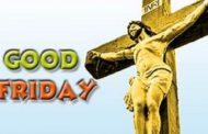உலகவாழ் கிறிஸ்தவர்களால் இயேசுபிரான் சிலுவையில் அறையப்பட்ட நாளான இன்றய தினம் பெரிய வெள்ளி