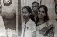 தமிழீழ மருத்துவ துறைப் பொறுப்பாளரின் மகளுக்கு விருது வழங்கிய ஜனாதிபதி மைத்திரிபால சிறிசேனா!