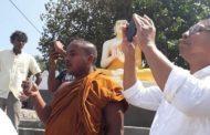 நீராவியடி பிள்ளையார் ஆலயத்திற்குள் நுழைந்த மனநிலை பாதிக்கப்பட்ட பௌத்த பிக்கு...!