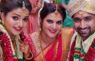 நந்தினி சீரியல் நடிகை நித்யா ராம் இரண்டாவது திருமணம் செய்து கொண்டார்..!! இதோ புகைப்படம்