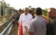 இன்று  இரணைமடு குளத்திற்கு திடீர் விஜயம் செய்த டக்ளஸ்..!!