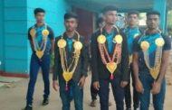 பாகிஸ்தான் செல்லும் வவுனியா வீரர்கள் 7 பேருக்கும் கௌரவிப்பு
