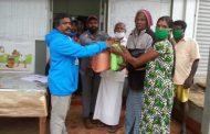 ரவி ஜுவலர்ஸ் உரிமையாளர் தனது சொந்த நிதியில் உலர் உணவு பொருட்களை பெற்றுக்கொடுத்தார்