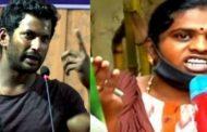 விஷால் ஹீரோ இல்லை வில்லன்.. பெண் ஊழியர் பகீர் பேட்டி..