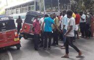 அட்டன் – பொகவந்தலாவ பிரதான வீதியில் இடம்பெற்ற விபத்து..!!