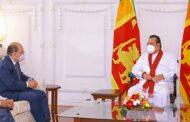 இந்திய வெளியுறவுத்துறை செயலாளர் மஹிந்த ராஜபக்ஷ சந்திப்பு